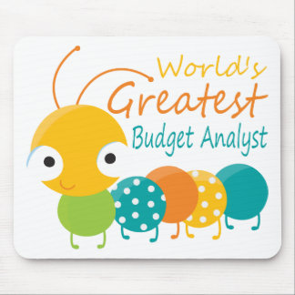 World's Greatest Budget Analyst Mouse Pad