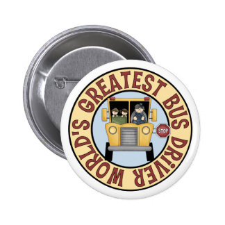 World's Greatest Bus Driver Button