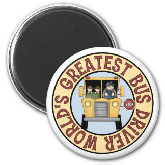 World's Greatest Bus Driver Magnet