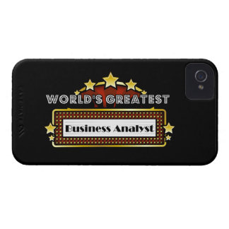 World's Greatest Business Analyst Case-Mate iPhone 4 Cases