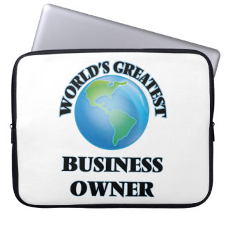 World's Greatest Business Owner Computer Sleeves