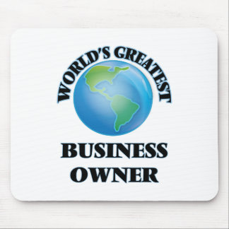 World's Greatest Business Owner Mouse Pad