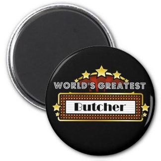 World's Greatest Butcher Fridge Magnets