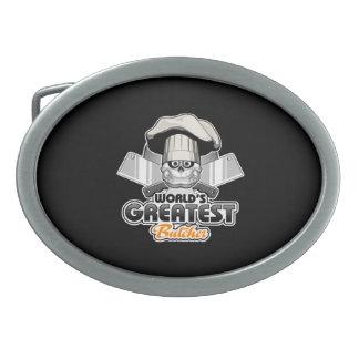 World's Greatest Butcher v2 Belt Buckle