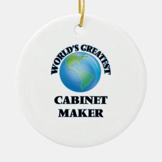 World's Greatest Cabinet Maker Christmas Ornament
