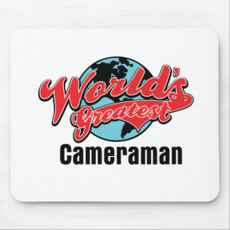 Worlds Greatest Cameraman Mouse Pad