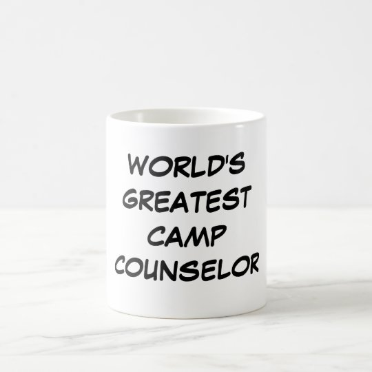 """World's Greatest Camp Counselor"" Mug"