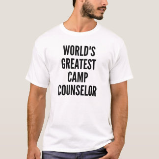 Worlds Greatest Camp Counselor T-Shirt