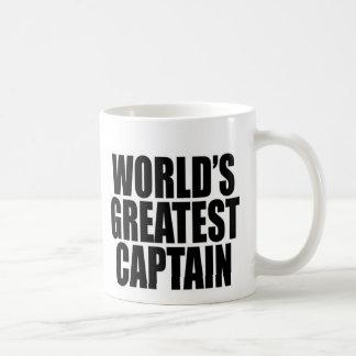 World's Greatest Captain Coffee Mug