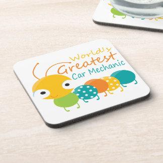 World's Greatest Car Mechanic Coasters
