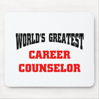 World's greatest career counselor mouse pad