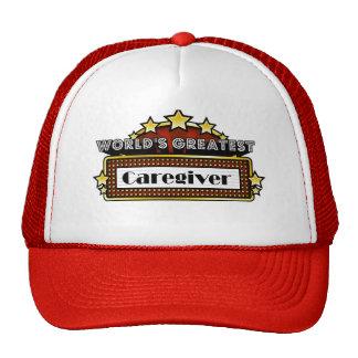 World's Greatest Caregiver Trucker Hat