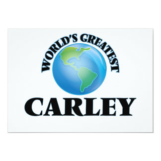 World's Greatest Carley Invites
