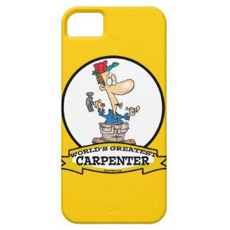 WORLDS GREATEST CARPENTER MEN CARTOON iPhone 5 COVER