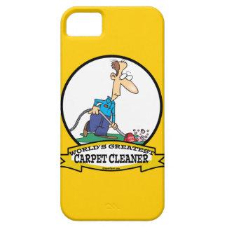 WORLDS GREATEST CARPET CLEANER MEN CARTOON iPhone SE/5/5s CASE