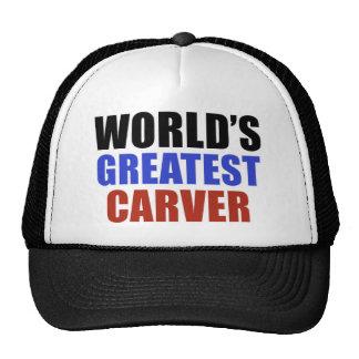 World's greatest CARVER Trucker Hat