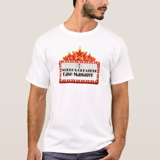 World's Greatest Case Manager T-Shirt