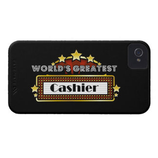 World's Greatest Cashier iPhone 4 Cases