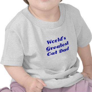 Worlds Greatest Cat Dad Tshirt