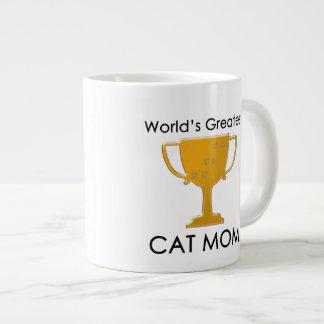 World's Greatest Cat Mom Giant Coffee Mug