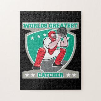 Worlds Greatest Catcher Puzzle