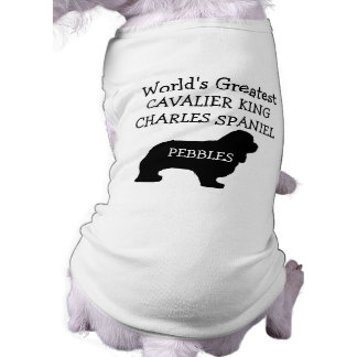 Worlds Greatest Cavalier King Charles Spaniel Dog Tee