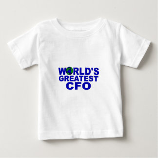 World's Greatest CFO Baby T-Shirt