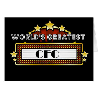 World's Greatest CFO Card