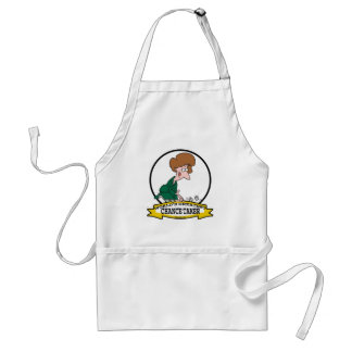 WORLDS GREATEST CHANCE TAKER WOMEN CARTOON ADULT APRON