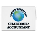 World's Greatest Chartered Accountant Greeting Cards