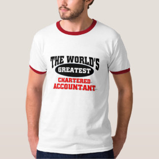 World's Greatest Chartered Accountant T-Shirt