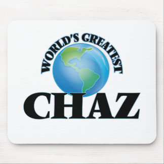 World's Greatest Chaz Mouse Pad