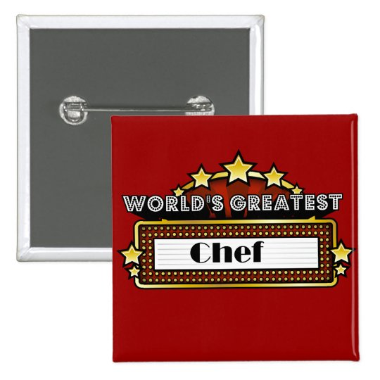 World's Greatest Chef Button