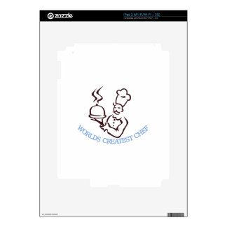 Worlds Greatest Chef Decals For The iPad 2