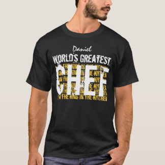 Worlds Greatest CHEF Funny A003 T-Shirt