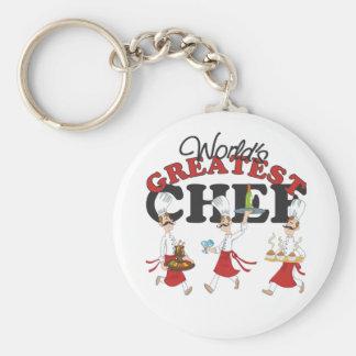 Worlds Greatest Chef Keychain