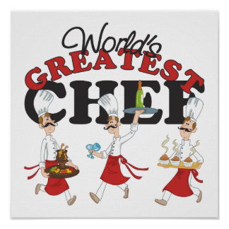 Worlds Greatest Chef Poster