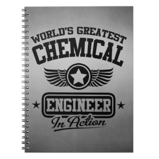 World's Greatest Chemical Engineer In Action Notebook