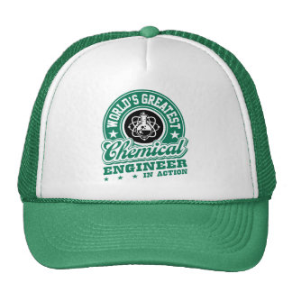 World's Greatest Chemical Engineer In Action Trucker Hat