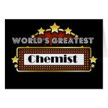 World's Greatest Chemist Greeting Card