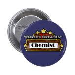 World's Greatest Chemist Pinback Buttons