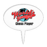 Worlds Greatest Chess Player Cake Topper