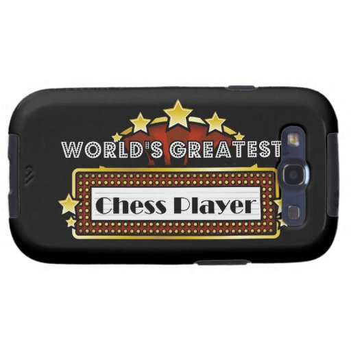 World's Greatest Chess Player Galaxy SIII Cover