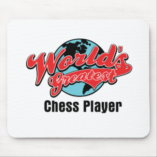 Worlds Greatest Chess Player Mouse Pad