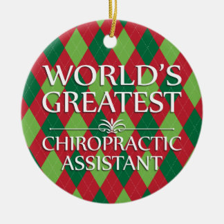 World's Greatest Chiropractic Assistant Ornament
