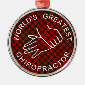 World's Greatest Chiropractor Christmas Ornament