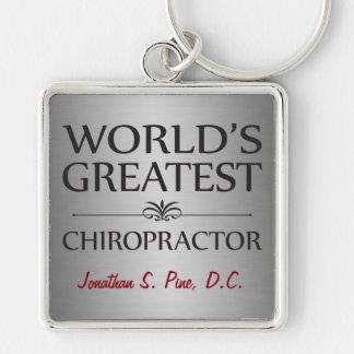 World's Greatest Chiropractor Keychain