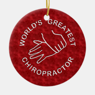 World's Greatest Chiropractor Ornament