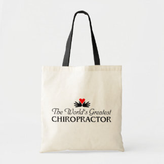 World's Greatest Chiropractor Tote Bag