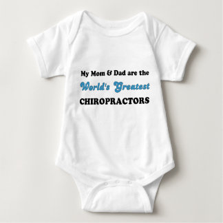 World's Greatest Chiropractors (Mom & Dad) Baby Bodysuit